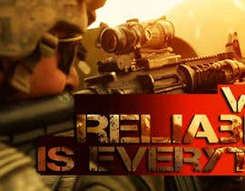 #35 untuk I Need a Main Image Designed for the Homepage of my Firearms Retail Website oleh clementalwin