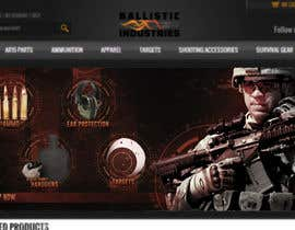 #4 untuk I Need a Main Image Designed for the Homepage of my Firearms Retail Website oleh crissdesignhd