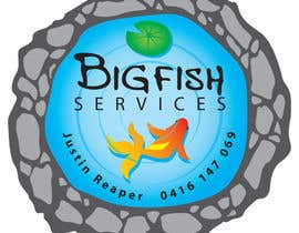 nº 19 pour Design a Logo for Bigfish Services par MadVixen