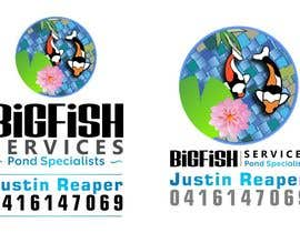 nº 52 pour Design a Logo for Bigfish Services par Iddisurz