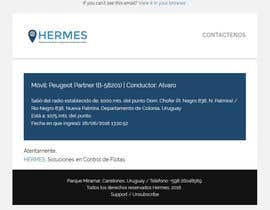 nº 4 pour Update 3 email templates based on a web site colors and style par vigneshhc