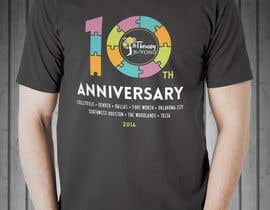 #185 for 10 year Anniversary Tshirt by alejandrodearmas