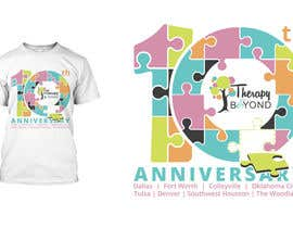 #108 for 10 year Anniversary Tshirt by asetiawan86