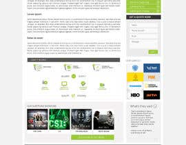 #123 for Design a Website Mockup for our Company af Pavithranmm