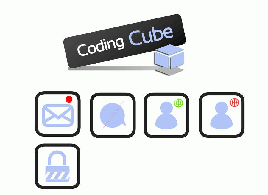 #30 for Design a Logo & Icons for a Coding Forum by geraltdaudio