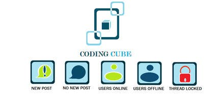 #15 for Design a Logo & Icons for a Coding Forum by Debamitragiri123