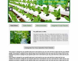 #9 untuk Design a Website Mockup for Hydroponic plant food oleh mishok123
