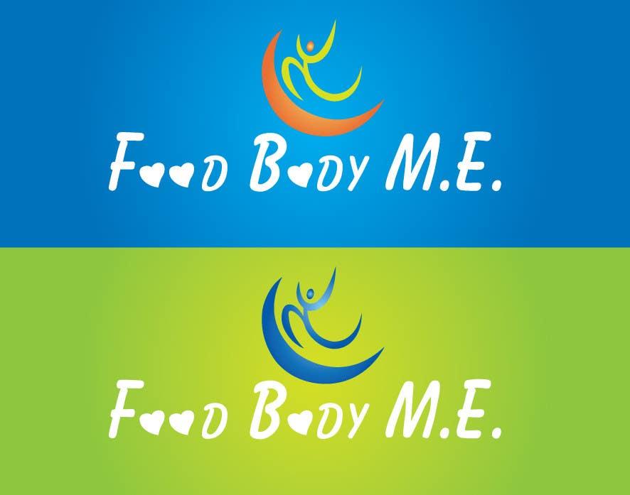 Kilpailutyö #                                        196                                      kilpailussa                                         Logo Design for Food Body M.E.