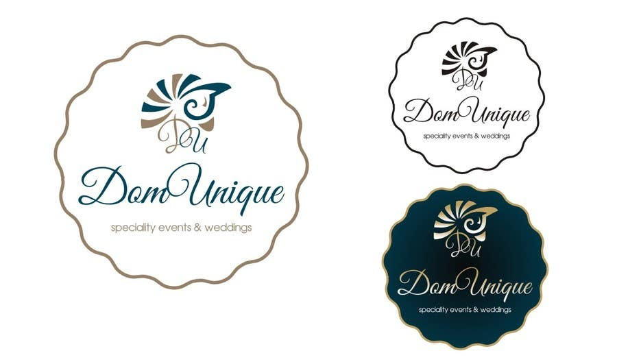 #27 for Develop a Corporate Identity for DomUnique Events by TOPSIDE