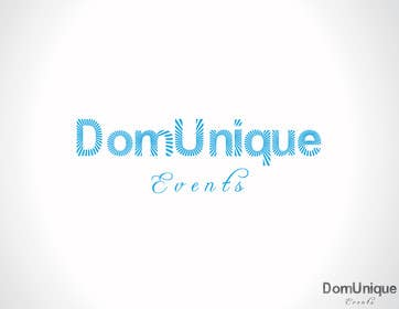 #12 for Develop a Corporate Identity for DomUnique Events by iffikhan