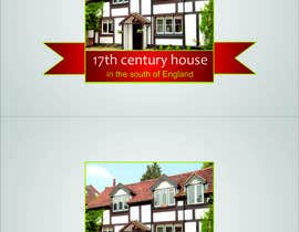 #37 for Design a Logo for 17th century house by TATHAE