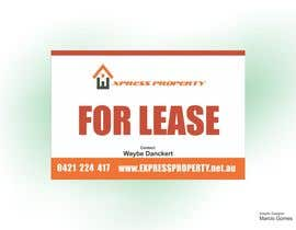 nº 2 pour Design 3 Sign Boards for Express Property real estate par marciusgomez