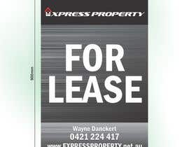 nº 9 pour Design 3 Sign Boards for Express Property real estate par marciusgomez