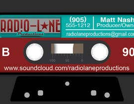 nº 8 pour Design Business Cards for Radio Lane Productions par edwait