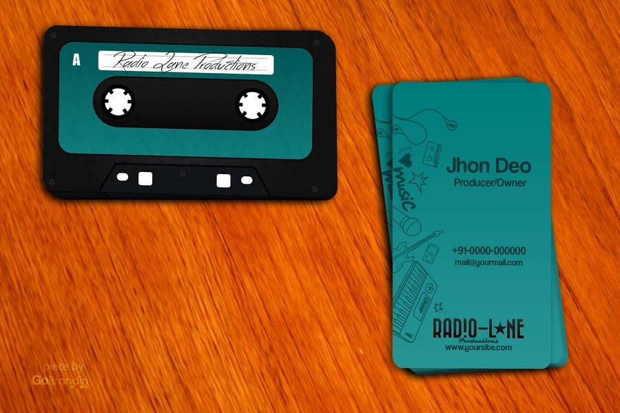 #14 for Design Business Cards for Radio Lane Productions by amitpadal