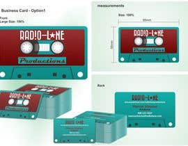 nº 19 pour Design Business Cards for Radio Lane Productions par marciusgomez