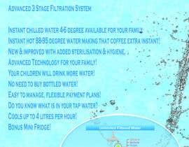 #3 para Design a Product flyer for a Water Cooler por tomebub