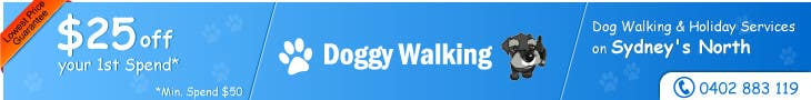 #36 for Design a Static Leaderboard Banner for Dog Walking Business by threedrajib