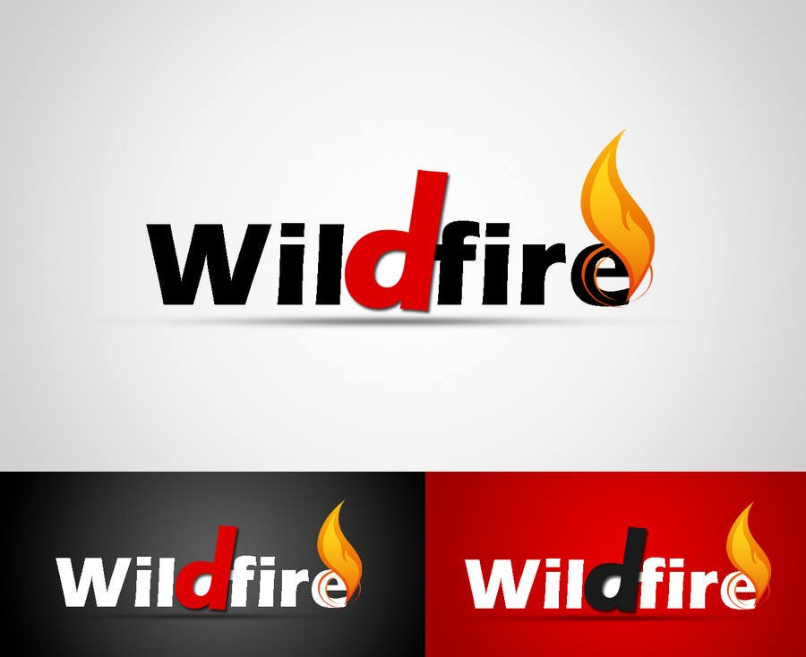 "Proposition n°9 du concours Design a text Logo for ""Wildfire"""