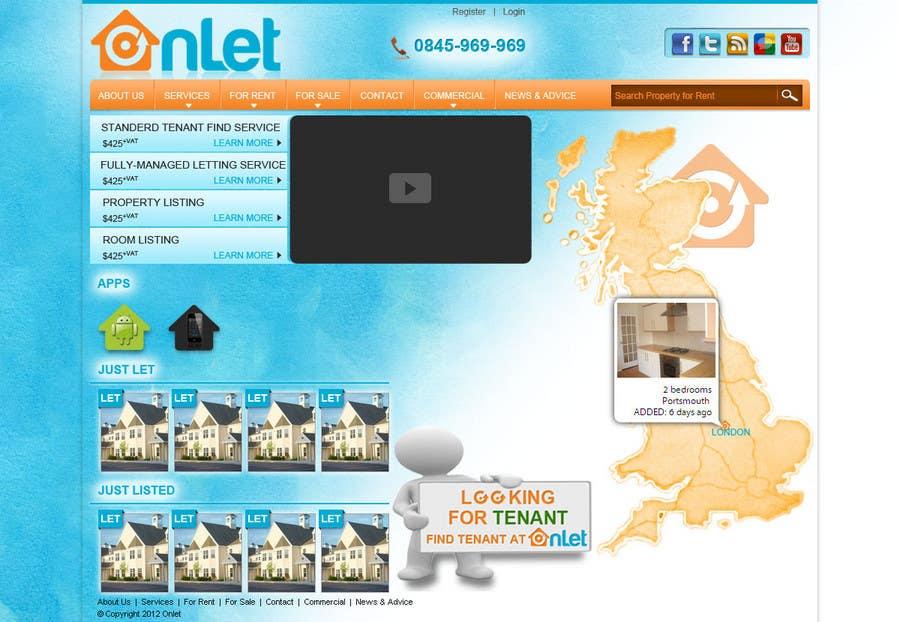 Inscrição nº                                         57                                      do Concurso para                                         Website Design for Onlet