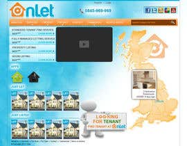 #57 para Website Design for Onlet por kosmografic
