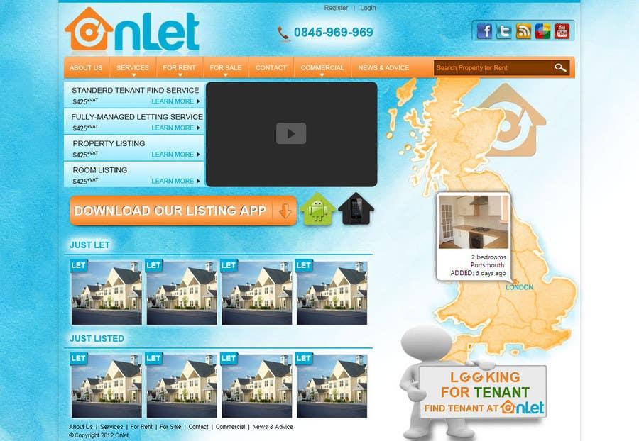 Inscrição nº                                         48                                      do Concurso para                                         Website Design for Onlet