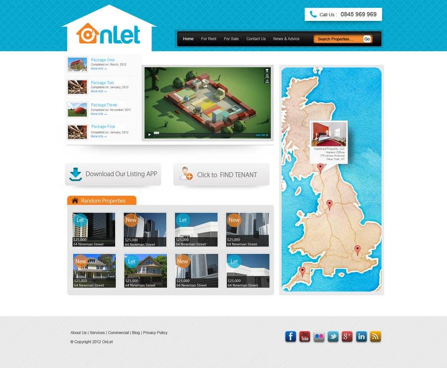 Конкурсная заявка №93 для Website Design for Onlet