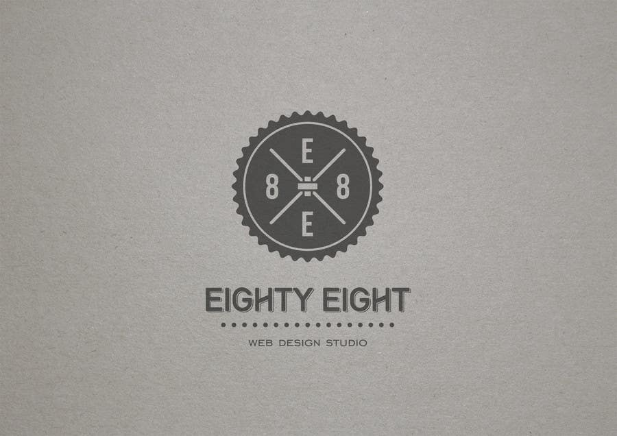 Konkurrenceindlæg #91 for Design a Logo for EightyEight - Web design studio