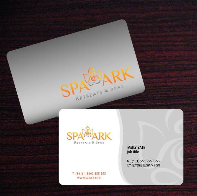 #43 for Design some Business Cards for Spa and Retreat Travel Agency by amaydualk