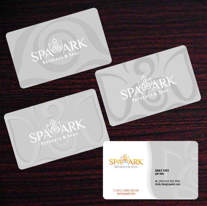 #46 for Design some Business Cards for Spa and Retreat Travel Agency by amaydualk