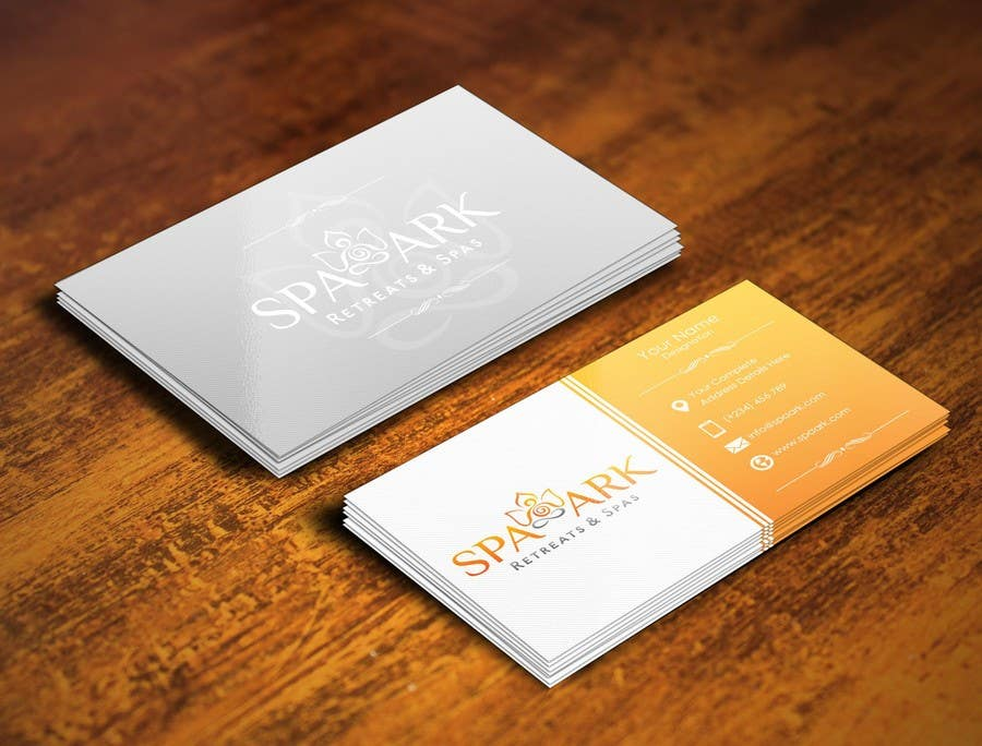 #39 for Design some Business Cards for Spa and Retreat Travel Agency by pointlesspixels