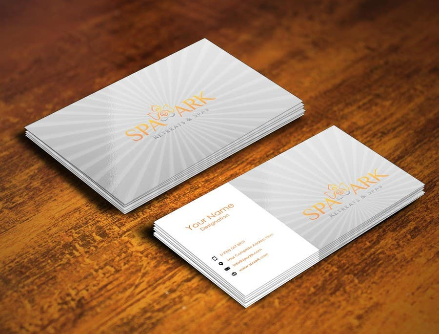#47 for Design some Business Cards for Spa and Retreat Travel Agency by pointlesspixels