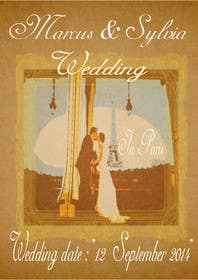 #14 for Design a Poster/Invitation for a Wedding Ceremony by elfiword