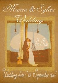 #14 for Design a Poster/Invitation for a Wedding Ceremony af elfiword
