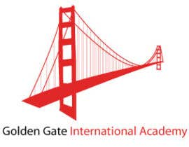#10 untuk Design a Logo for Golden Gate International Academy oleh vickidaniel