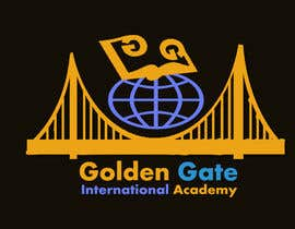 #18 untuk Design a Logo for Golden Gate International Academy oleh Balghari91