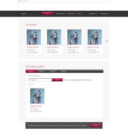 AquimaWeb tarafından Design for erotic models web site için no 13