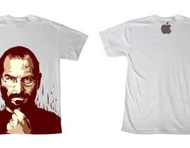 #186 для T-Steve, a tribute shirt for Steve Jobs от skewness888