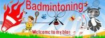 Bài tham dự #3 về Graphic Design cho cuộc thi Design a Banner for a Badminton Blog