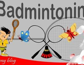 #4 para Design a Banner for a Badminton Blog por pdshermila
