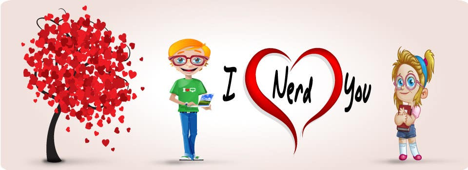 #49 for Design a Banner for a Nerd Dating Site by Carlitacro