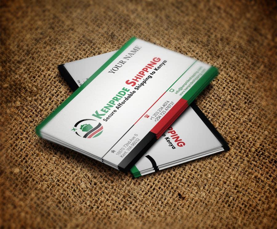 Penyertaan Peraduan #57 untuk Design some Business Cards for shipping company