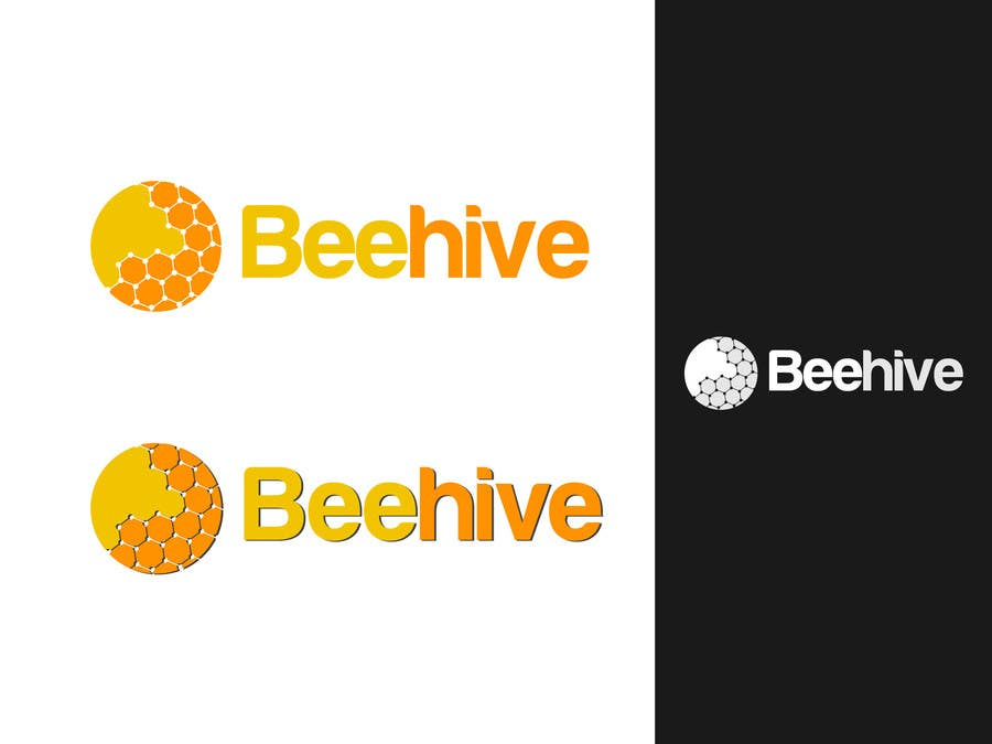 Bài tham dự cuộc thi #39 cho Design a Logo for a temporary student work agency 'Beehive'.