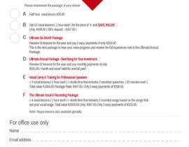 designzforworld tarafından update text on PDF için no 7