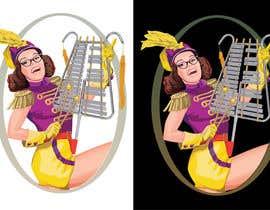 caloylvr tarafından Illustrate a humorous, energetic marching band performer için no 54