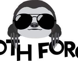 Inkfiend tarafından [Game Studio Logo] Sloth with aviator sunglasses with SLOTH FORCE written below için no 40