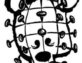 dgpaolacastaneda tarafından create a drawing based on my logo mixed with Pinhead from Hellraiser için no 6