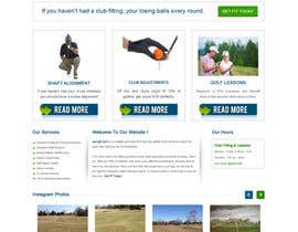 #12 para Design a Website Mockup for swingR golf por gravitygraphics7