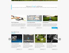 #1 for Design a Website Mockup for swingR golf by yuva33raaj