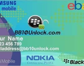 #4 para Design some Business Cards for BB10Unlock & ModGadgets por Faraday4815